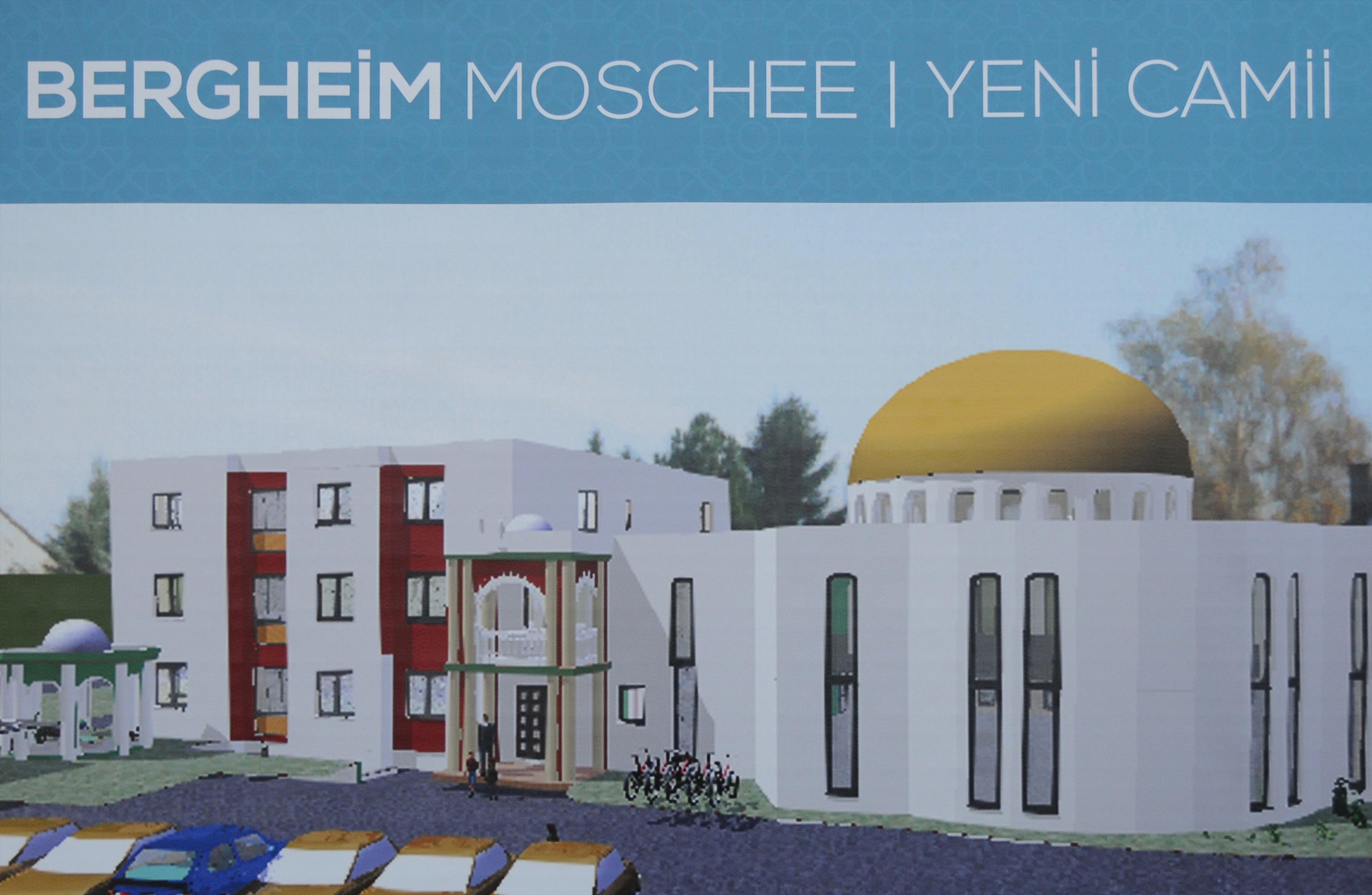 Bergheim DİTİB Yeni Camii ve Kültür Merkezi'nin temeli atıldı