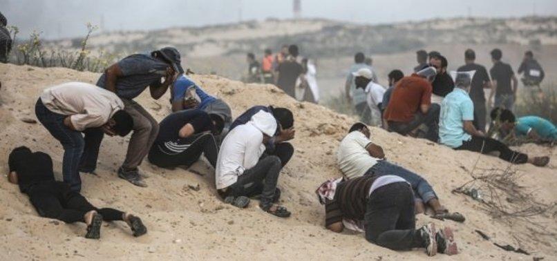 Katliamcı İsrail saldırılarılara devam ediyor! 80 yaralı