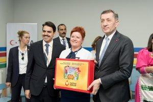 Gagauz Özerk Yeri'nde İnşa Edilen Nasrettin Hoca Kreşi'ne Eğitim Setleri Teslim Edildi