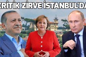 Suriye zirvesi yarın İstanbul'da