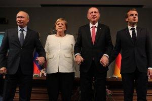 Dörtlü Zirve Ortak Bildirisi yayınladı