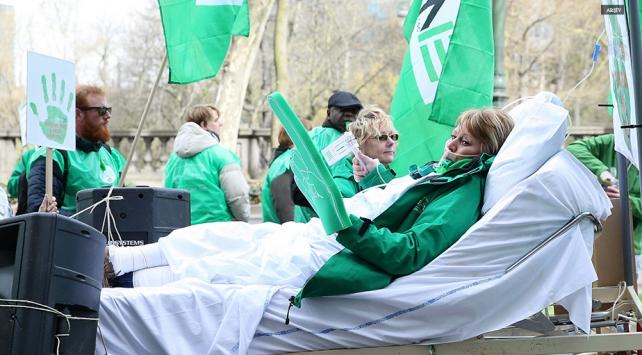 Belçika'da hastaneler maddi krizle boğuşuyor