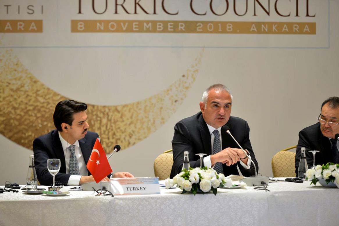 Türk Konseyi Diasporalardan Sorumlu Bakanlar ve Kurum Başkanları Ankara'da Toplandı