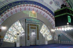 Kütahya çinileri yurt dışında da camileri süslüyor
