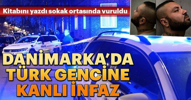 Danimarka'da Türk genci kitabını tanıttı sokak ortasında vuruldu