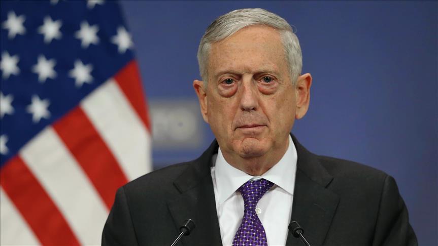 ABD Savunma Bakanı James Mattis: Sınırdaki askerlerin elinde silah yok