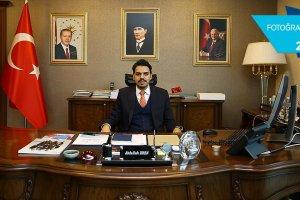 YTB Başkanı Eren'in oyu 'Türk Bayrağı Afrin'de' fotoğrafına
