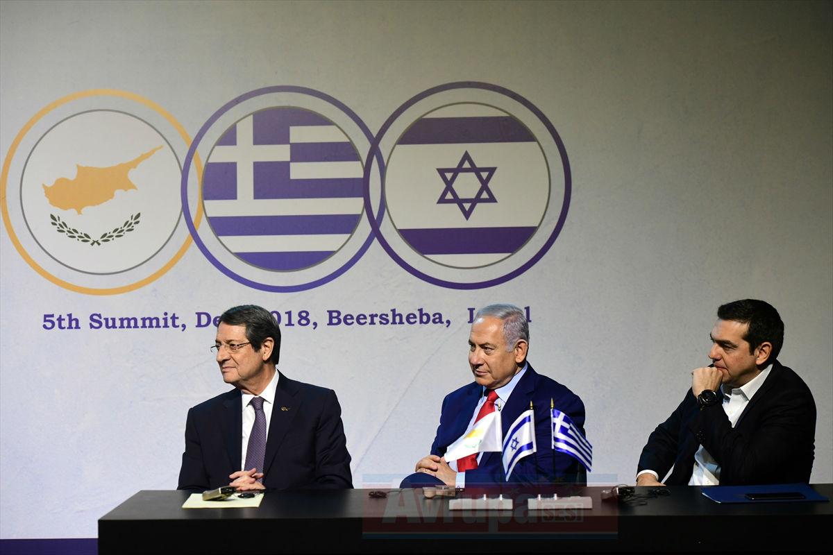 İsrail – Yunanistan - GKRY Üçlü Zirvesi