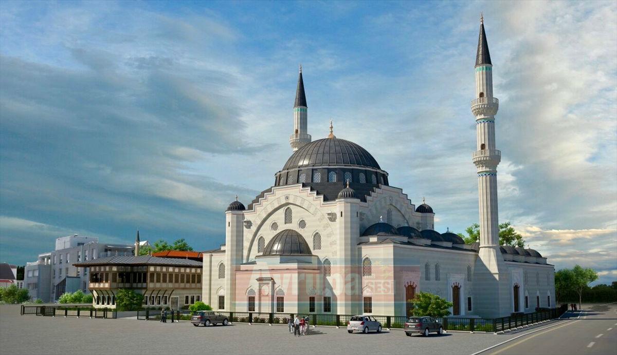 Avrupa'nın en büyük camisi Strazburg'da yükseliyor