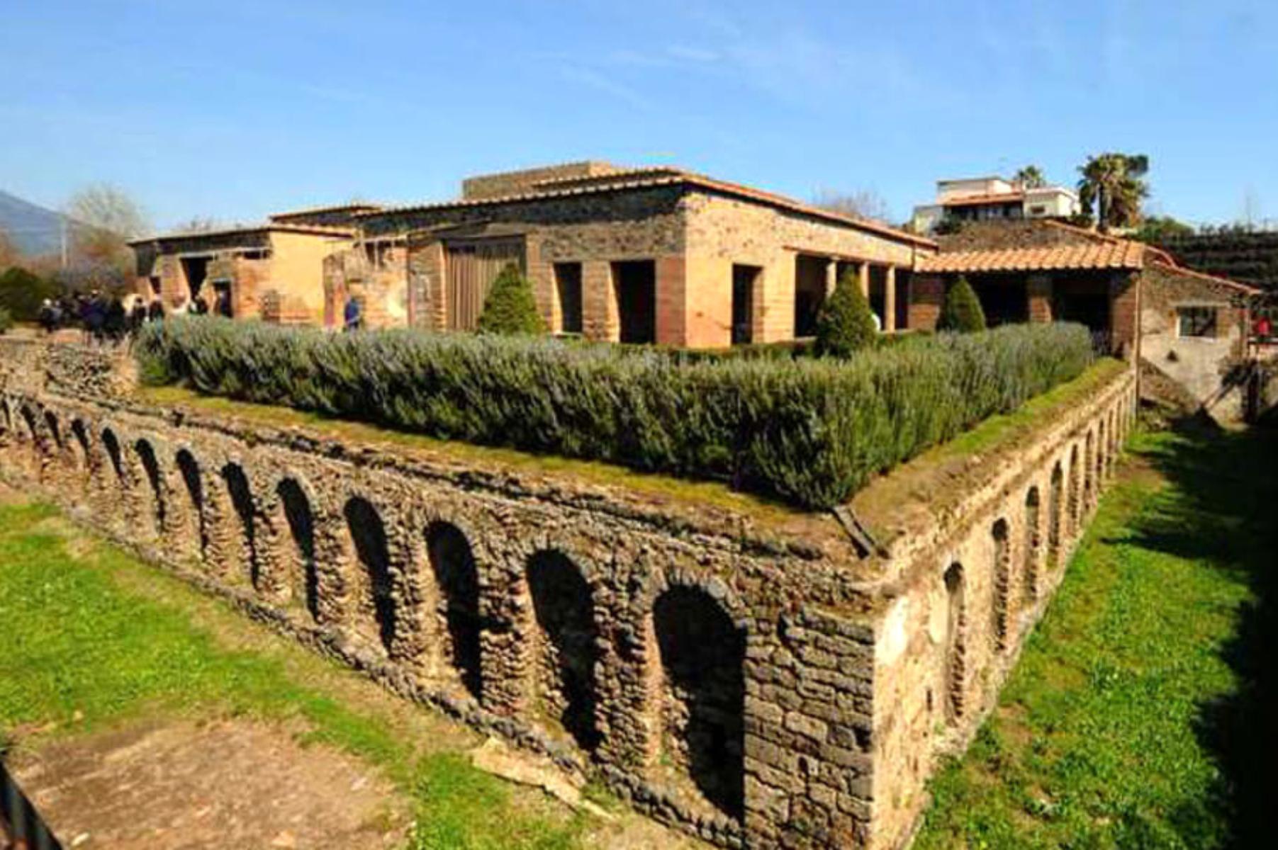 Pompei'de taşlaşmış at kalıntıları bulundu