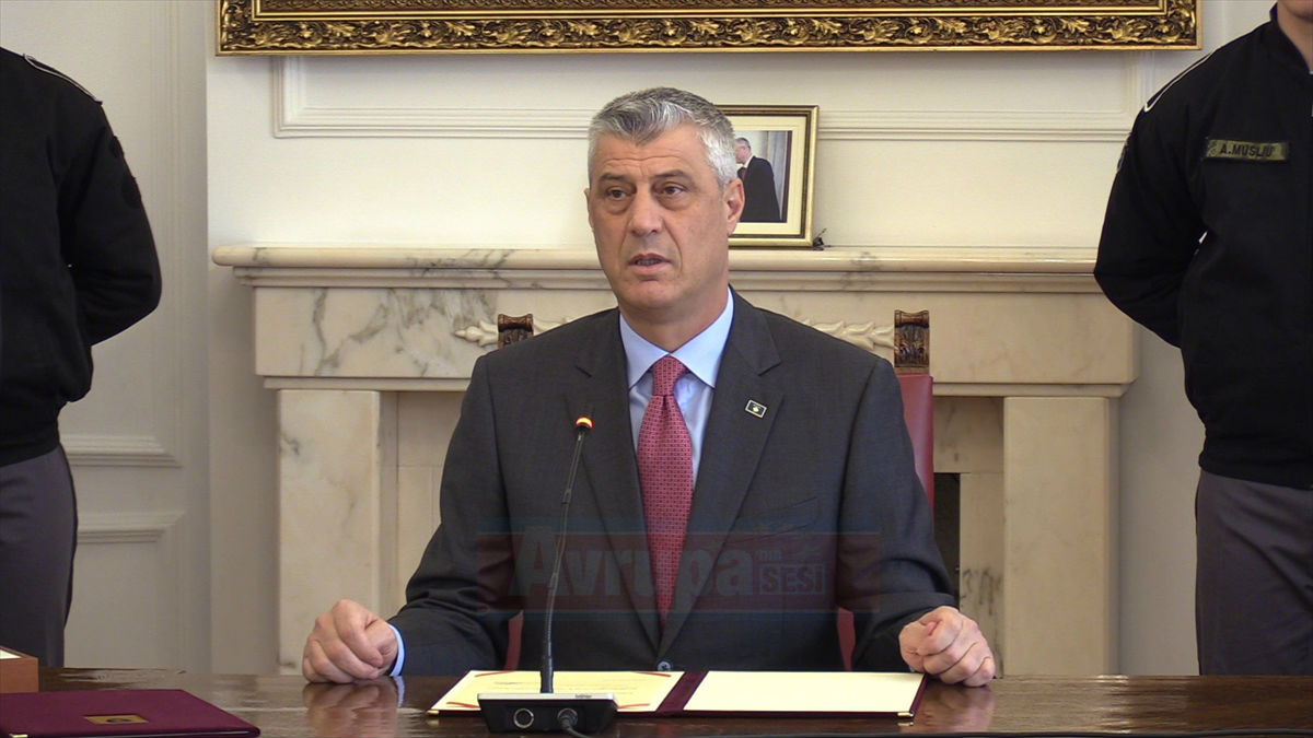 Kosova ordusunun kurulmasını onay