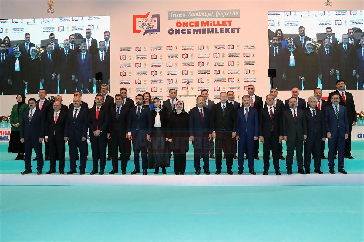 AK Parti Ankara Aday Tanıtım Toplantısı