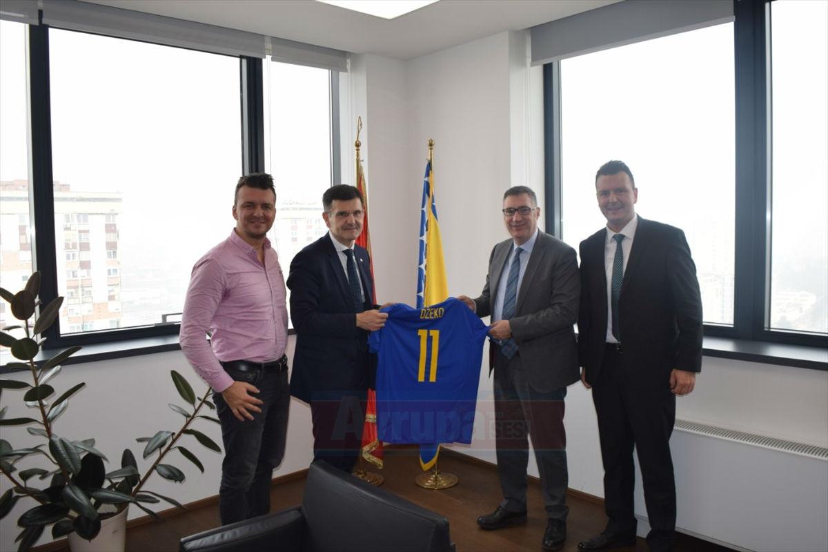 Ziraat Bankası, Bosna Hersek Futbol Federasyonu ile anlaşmasını uzattı