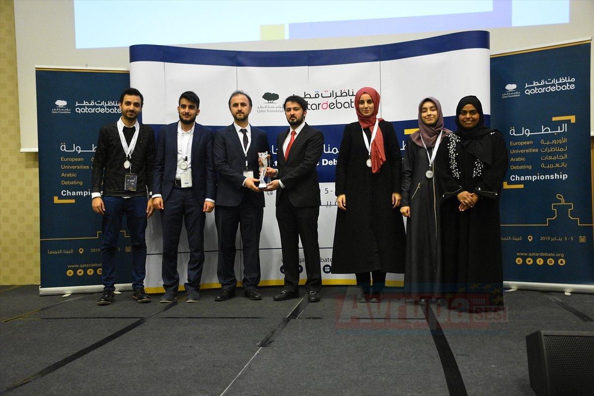 Arapça Münazara Şampiyonasında Türk öğrencilerin başarısı