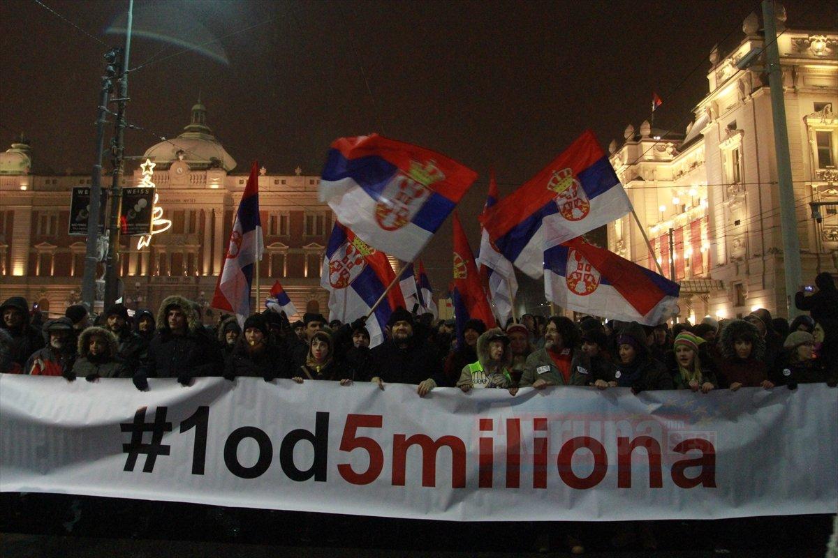 Sırbistan'daki hükümet karşıtı protestolar