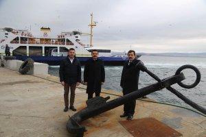 Çanakkale'de denizden 3 tonluk tarihi çapa çıkarıldı