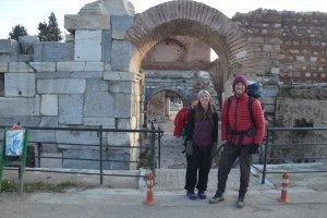 Sufi Yolu'nu yürüyen Amerikalı gezginler İznik'ten geçti