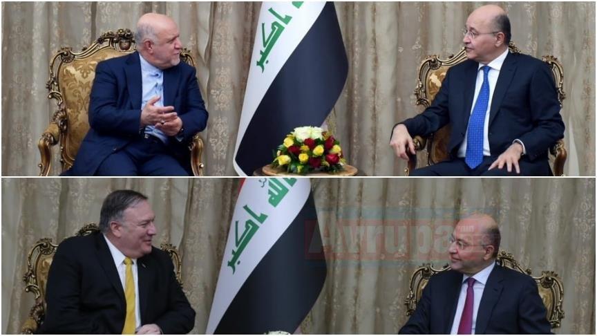 ABD ve İran'dan art arda Irak'a üst düzey ziyaret