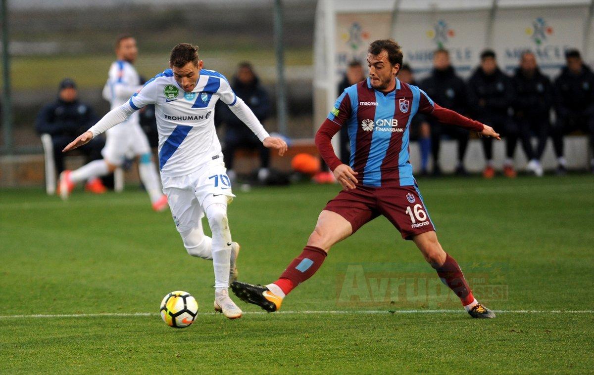 Trabzonspor: 0 - MTK Budapeşte: 2