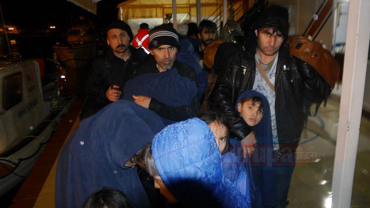 Çanakkale'de 106 düzensiz göçmen yakalandı