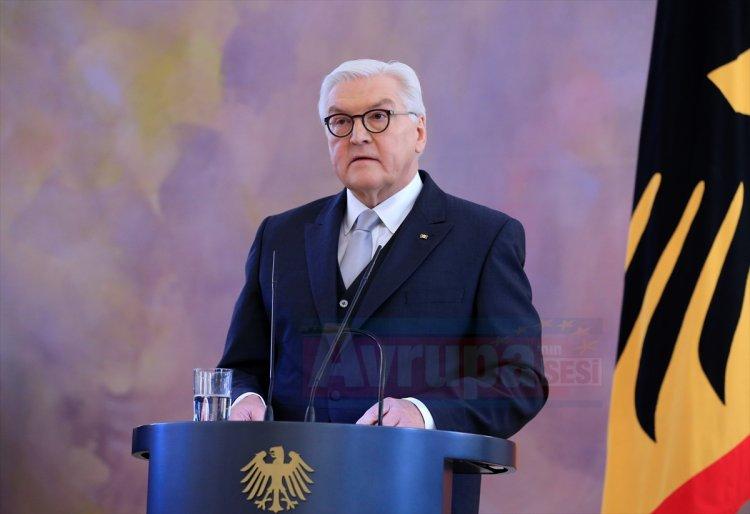 Almanya Cumhurbaşkanı Steinmeier'den yeni yıl resepsiyonu