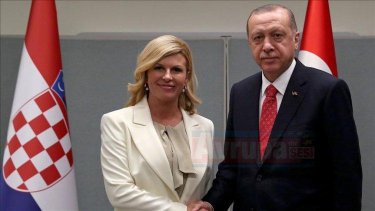 Hırvatistan Cumhurbaşkanı Türkiye'ye geliyor