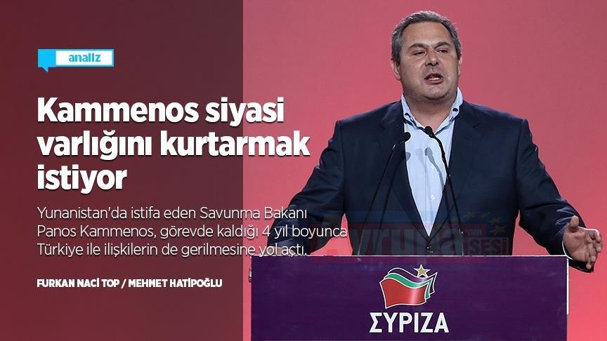 Yunanistan'ın 'sorumsuz siyasetçisi' istifasıyla siyasi varlığını kurtarmak istiyor