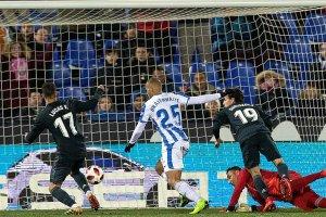 Real Madrid mağlubiyete rağmen turladı