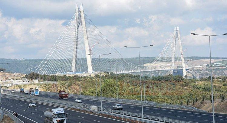 Köprü ve otoyollardan 1,8 milyar lira gelir