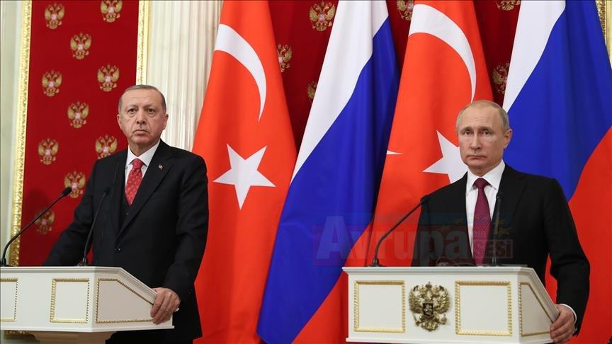 Cumhurbaşkanı Erdoğan: İdlib'te terör örgütlerine karşı mücadelemiz ortak devam edecek