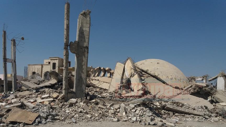 WASHINGTON  ABD öncülüğündeki koalisyon Suriye'de yine cami vurdu