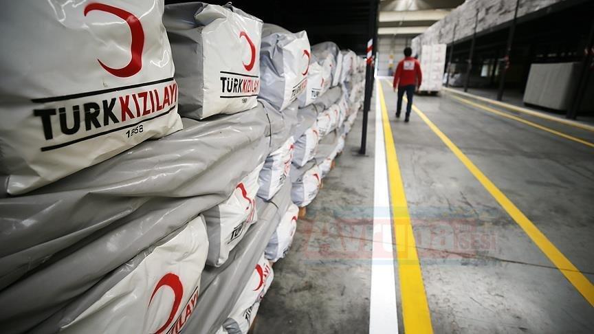 Kızılay 2018'de 23 milyon insana yardım etti