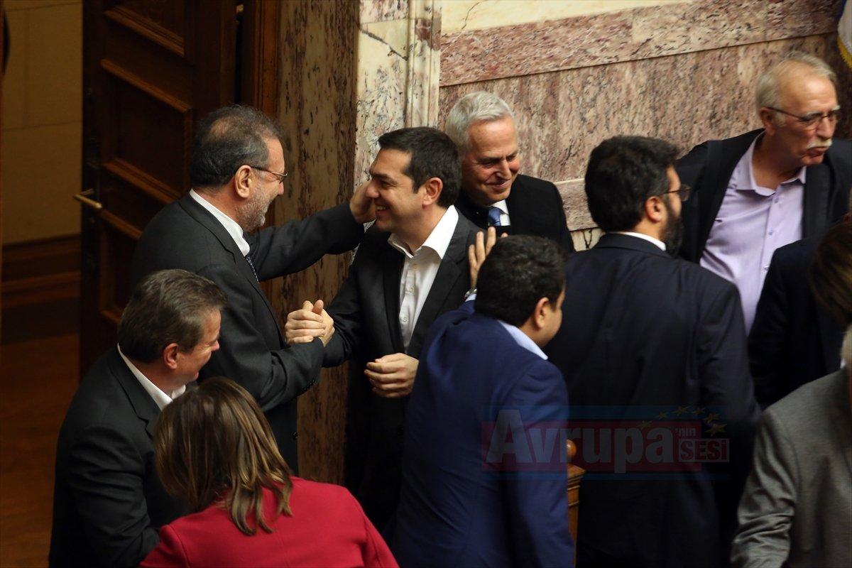 Yunanistan Meclisi Makedonya ile