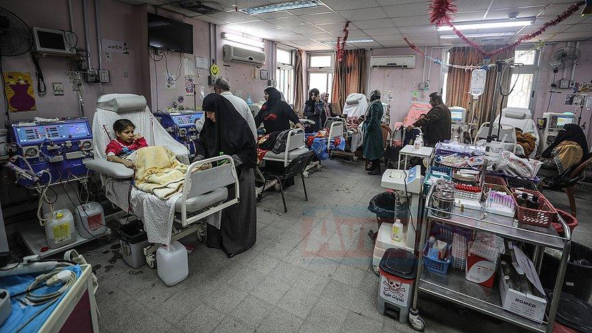 Gazze'de Hastane elektriksiz kalırsa mezarlığa dönüşebilir