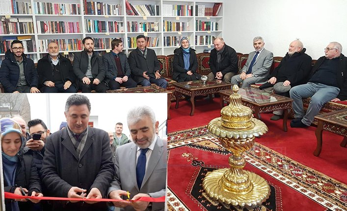 Yunus Emre Camii'nde kütüphane ve okuma salonu açıldı