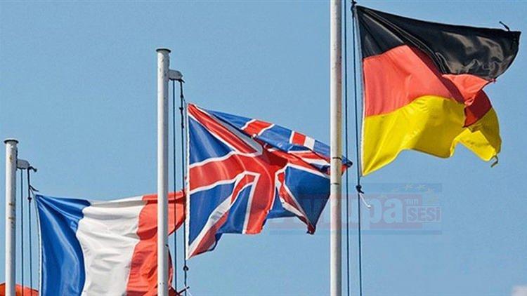 Almanya, Fransa ve İngiltere yapacağını yaptı yine