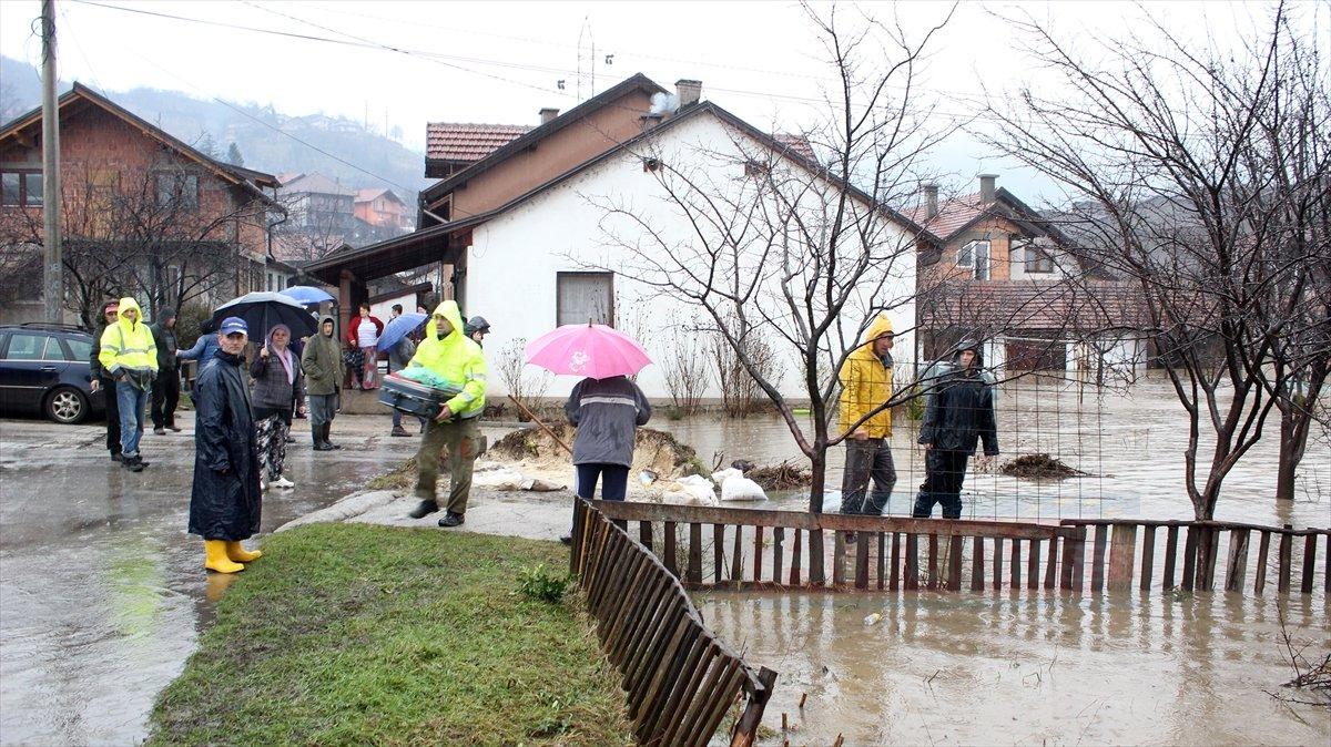 Bosna Hersek'te sel