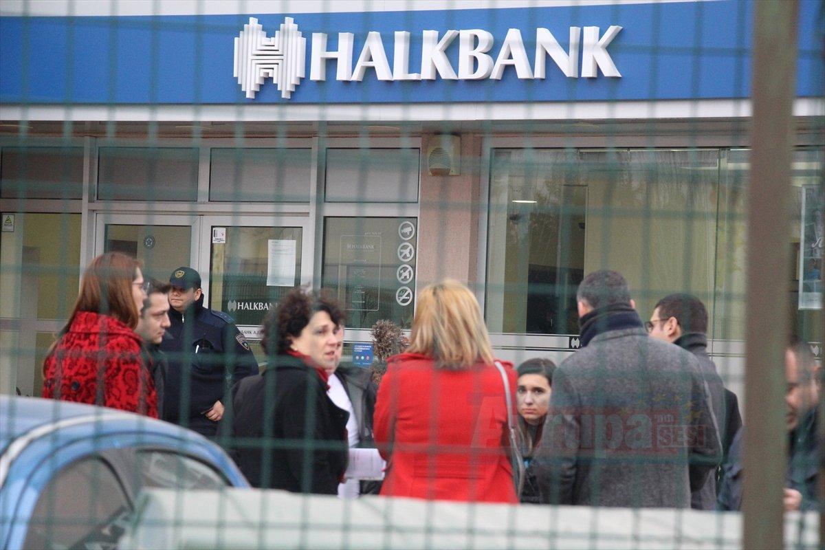 Makedonya'daki  Haklbank'ın şubesinde soygun