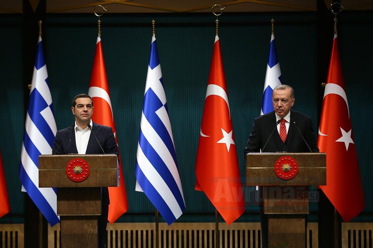 Erdoğan-Çipras ortak basın toplantısı