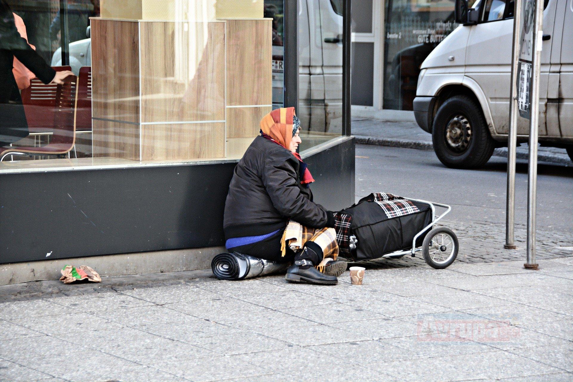 Belçika'daki evsizler saldırıya uğruyor
