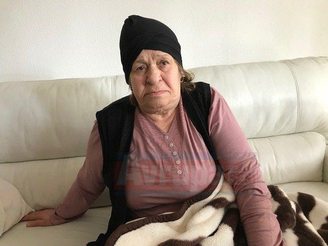 80'lik Aysel nine kış ortasında evsiz kaldı