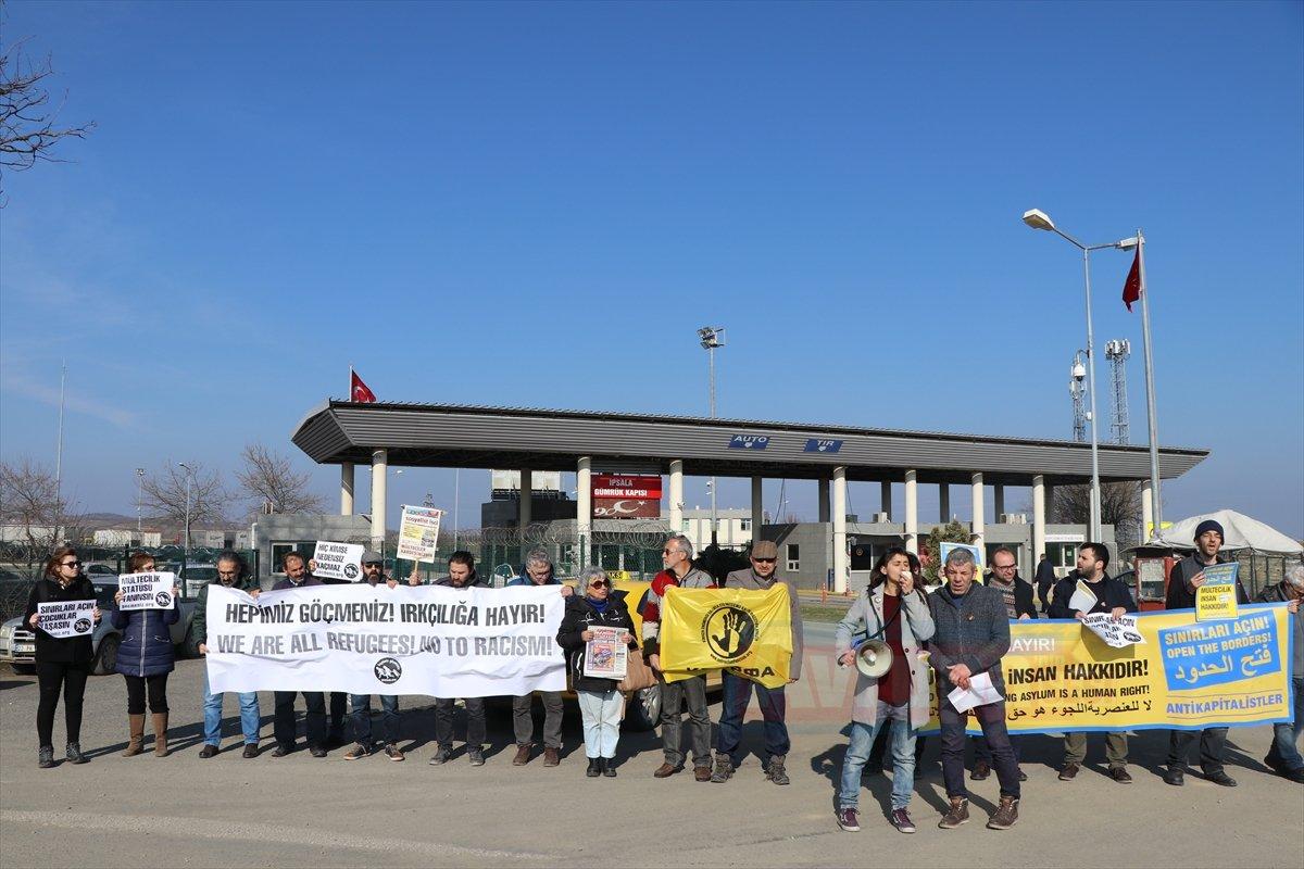 İpsala Sınır Kapısı'nda göçle ilgili destek açıklaması