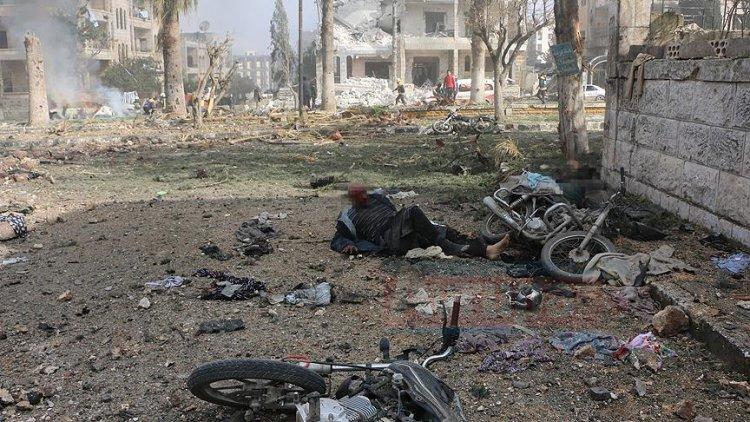 İdlib'de bombalar patlamaya devam ediyor: 15 ölü, 79 yaralı