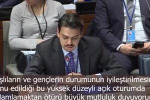 YTB Başkanı Abdullah Eren BM Sosyal Kalkınma Komisyonu'nunda Konuştu