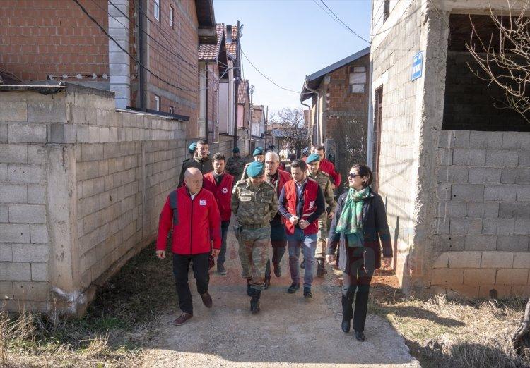 Kızılaydan Kosovalı ailelere yardım eli