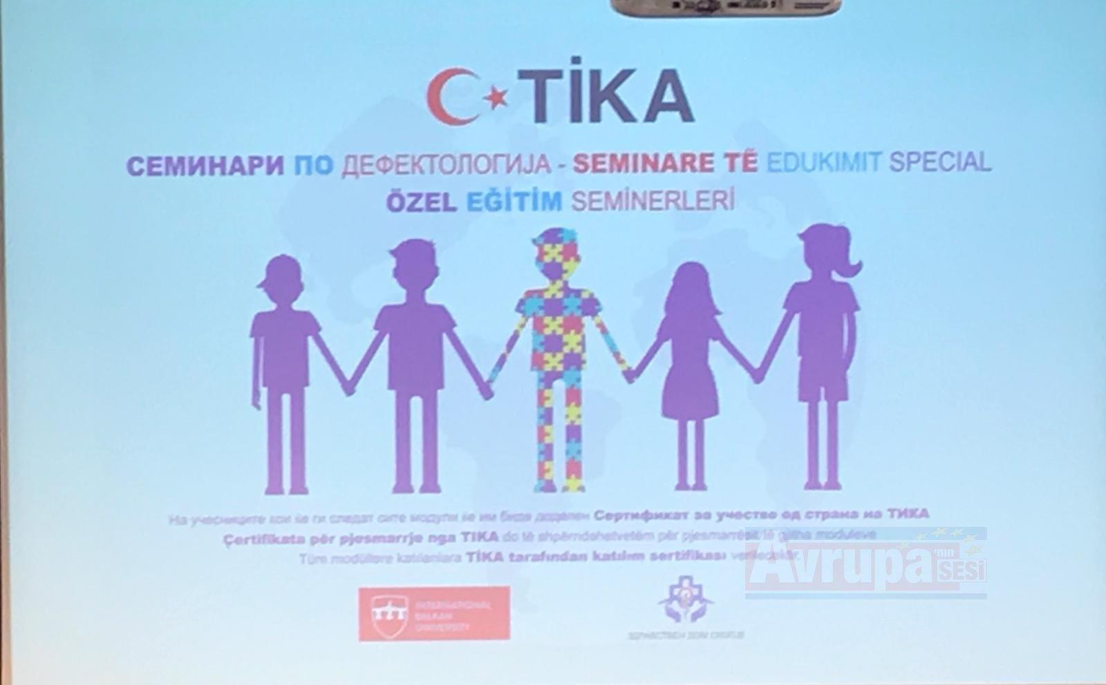TİKA Balkanlarda eğitim seminerleri başlattı