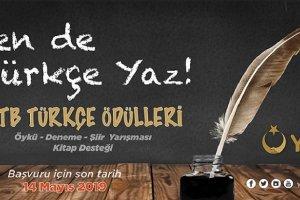 YTB Türkçe Ödülleri Yarışmasına devam ediyor