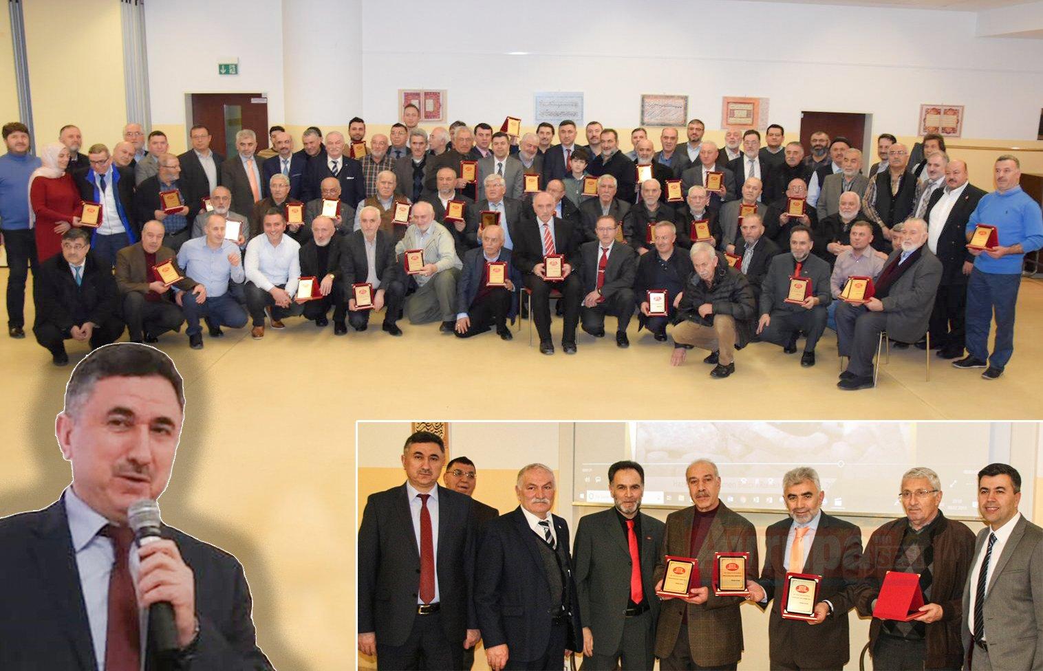 """DİTİB başkanları """"Ahde Vefa"""" programında buluştu"""