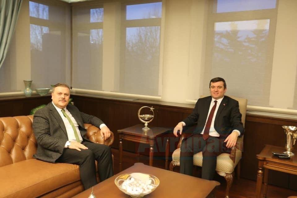 Genel Başkan Bilgi, Bakan Yardımcısı Kıran ile bir araya geldi