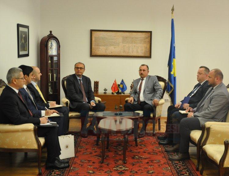 Büyükelçi Sakar'dan anlamlı ziyaret